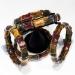 Multi-color Tiger's-Eye Stretch Bracelets