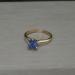 14K Tanzanite Single Solitaire Ring Sz6 J1270826P