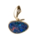 14KY Australian Opal & Diamond Pendant J1226885P