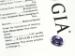 Natural Spinel Color Change Violetish-Blue Purple Oval Faceted Gemstone GIA Report