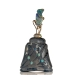 Black Crystal Opal Lightning Ridge Australia Luxury Perfume Bottle