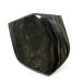 Natural Mahogany Obsidian Glass Butte Shield Cabochon