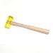 Plastic 9 inch Hardwood handle Mallet 4 oz Head