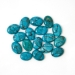 Turquoise 17pc Oval Cabochon Lot 111.51ctw. Stabilized Spiderweb Turquoise G1162927P