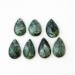 Picture of Seraphinite Drilled Pear Shape Cabochons CB1013165